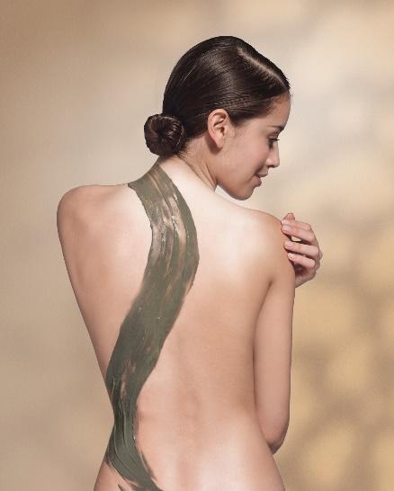 海 藻 矽 針 背 部 換 膚 療 程